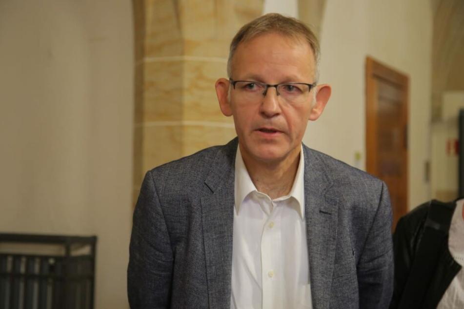 Markus Kadenbach, der Chef des Amtsgerichts Bautzen erklärte den Ausschluss der Öffentlichkeit.
