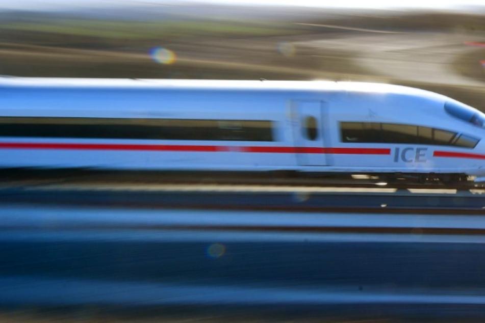 Die schnelle Reaktion des Zugführers hat wohlmöglich Schlimmeres verhindert. (Symbolbild)