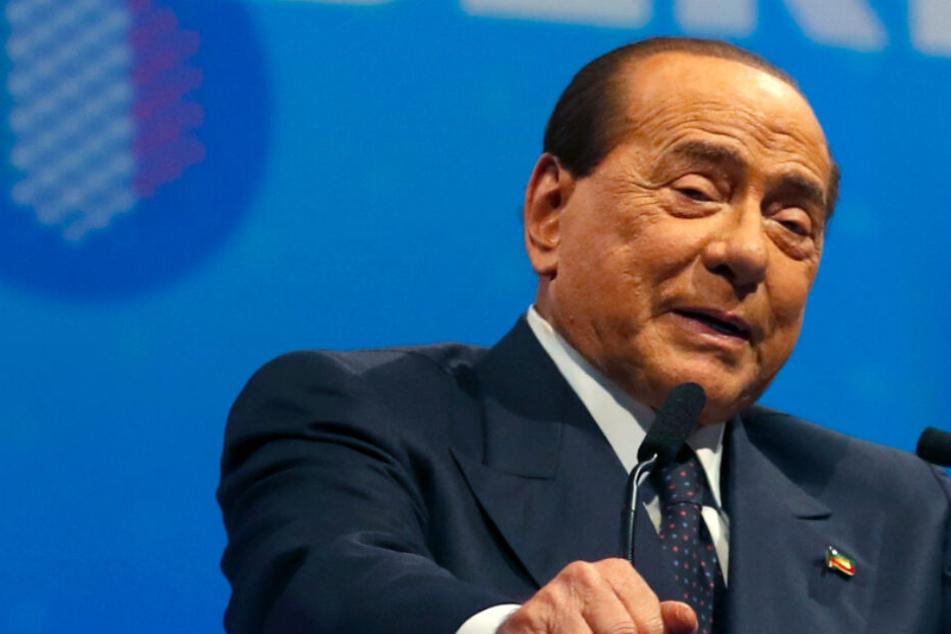 Schock! Silvio Berlusconi nach Sturz in Klinik