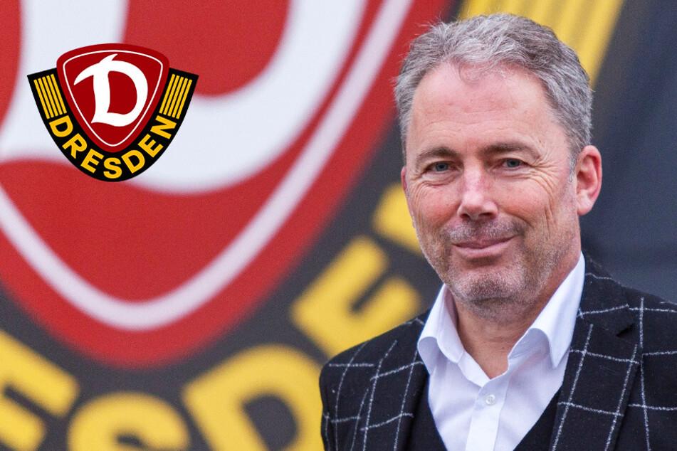 Dynamos neuer Geschäftsführer stellt sich vor: Jürgen Wehlend hat riesengroße Ziele mit der SGD
