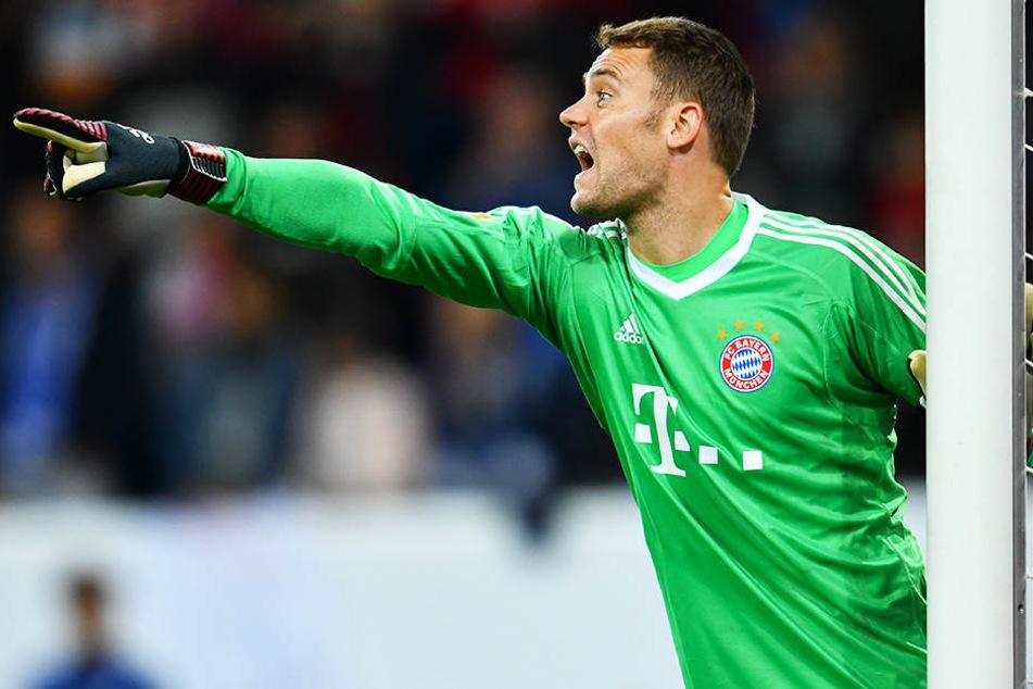 Dirigiert seit 2011 die Abwehr des FC Bayern München: Manuel Neuer.