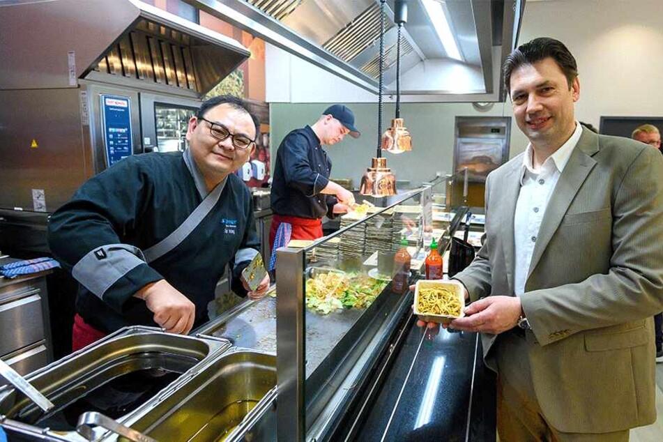Neue Mensa verbannt Fließband-Essen: Hier kann sich jetzt jeder sein Mittag selbst zusammenstellen