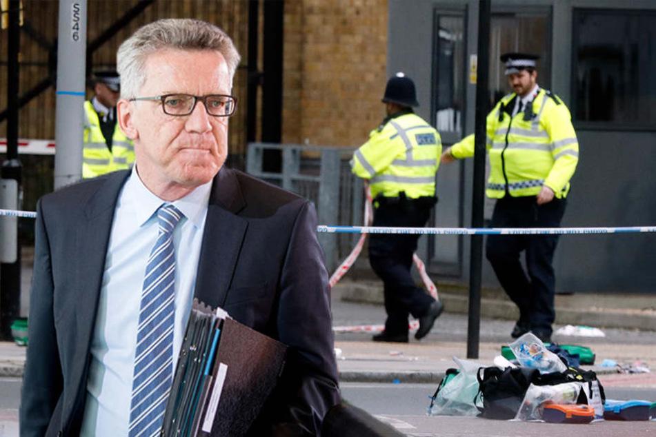 Innenminister bestätigt: Deutsche unter den Verletzten in London