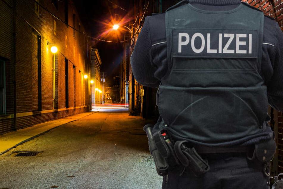 Die Polizei fahndet nach den drei Tätern (Symbolbild).