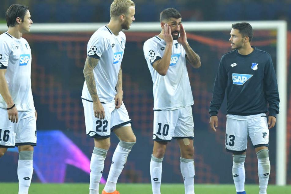 Die TSG Hoffenheim bei ihre Championsleague-Premiere: Da wäre mehr drin gewesen.