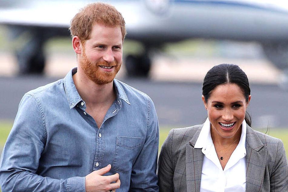 Prinz Harry und Meghan warten auf das Kind.