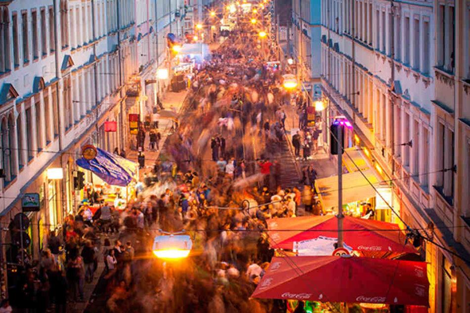 Rund 100.000 Besucher werden erwartet: Das Stadtteilfest Bunte Republik Neustadt (BRN) findet vom 15. bis 17. Juni statt.