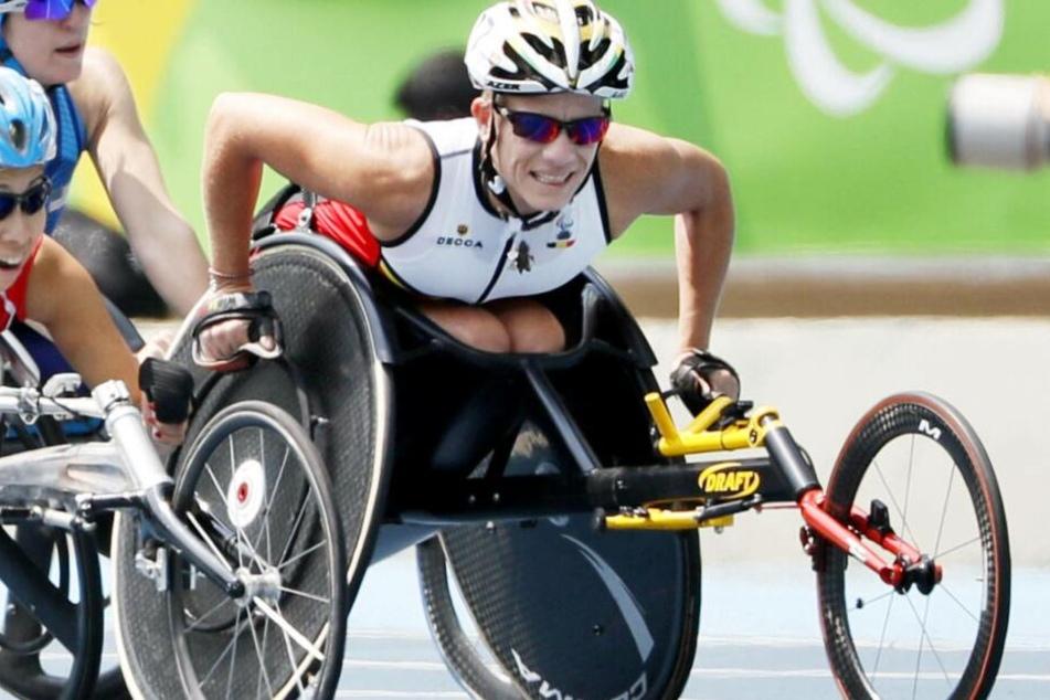 Marieke Vervoort bei den Paralympics in Rio de Janeiro 2016.