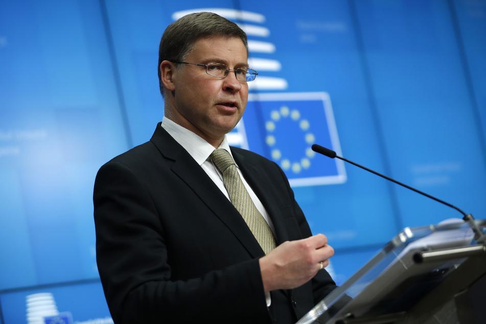 Valdis Dombrovskis, EU-Kommissionsvizepräsident.