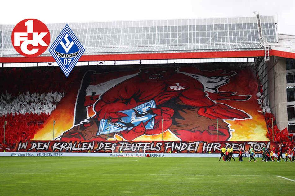 """Kaiserslautern-Choreo gegen Mannheim: """"In den Krallen des Teufels findet ihr den Tod"""""""