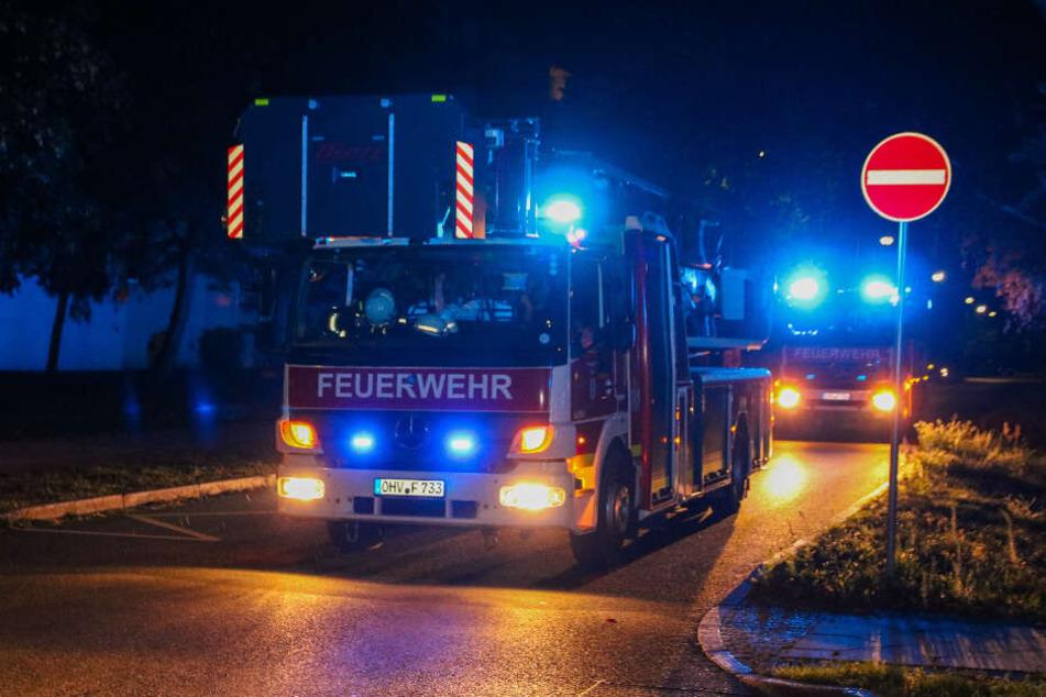 Ein ausgelöster Rauchmelder ließ die Feuerwehr in Velten ausrücken.