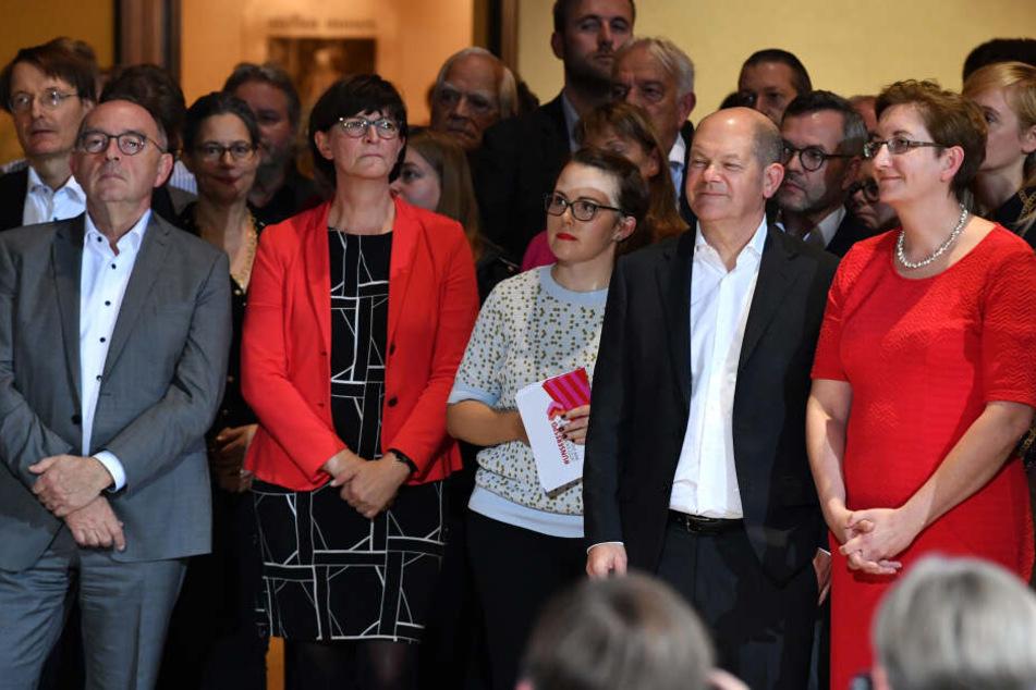 Rennen um SPD-Spitze: Diese Duos ziehen in die Stichwahl!