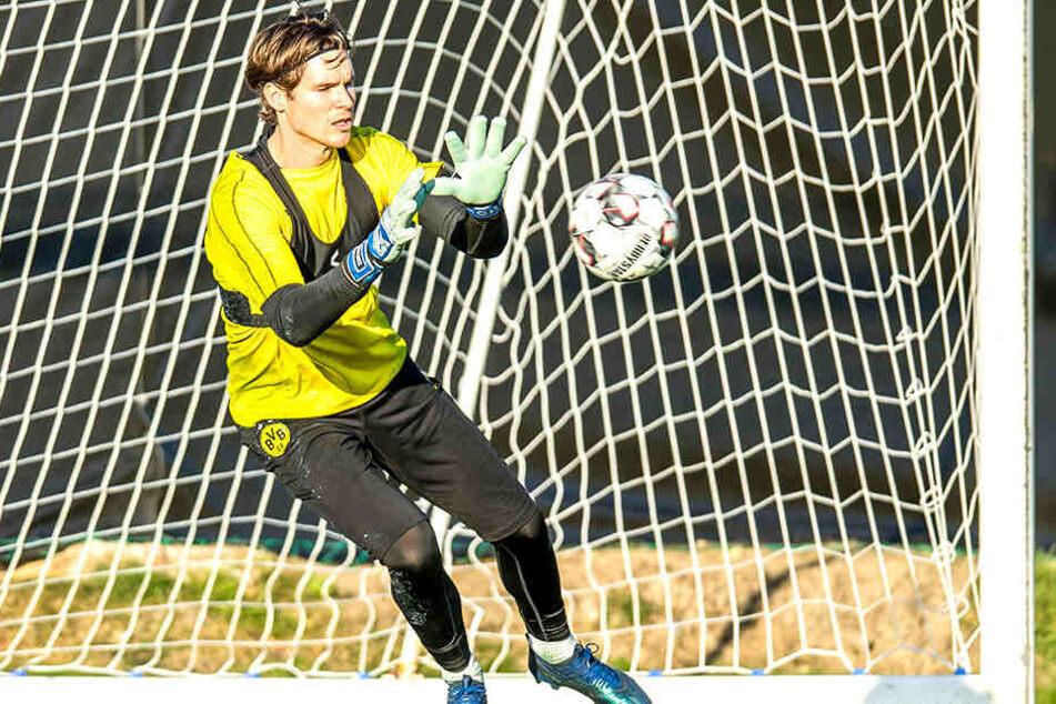 Auch Marwin Hitz, die Nummer 2 im BVB-Kasten ist gegen Werder nicht einsatzbereit.