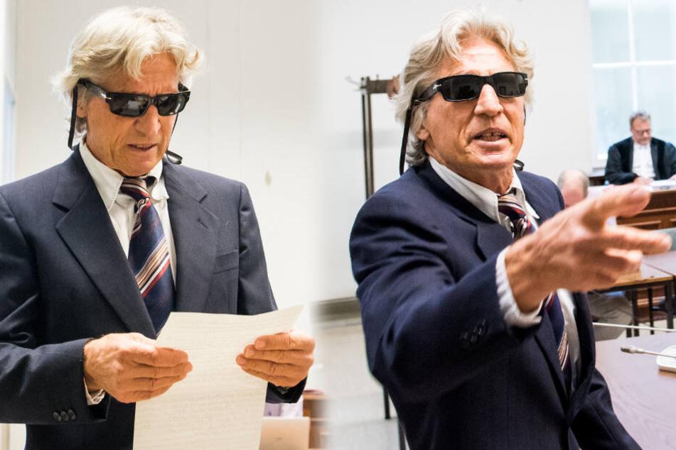 Bankräuber zieht vor Prozess skurrile Show ab und gesteht plötzlich einen Schuss