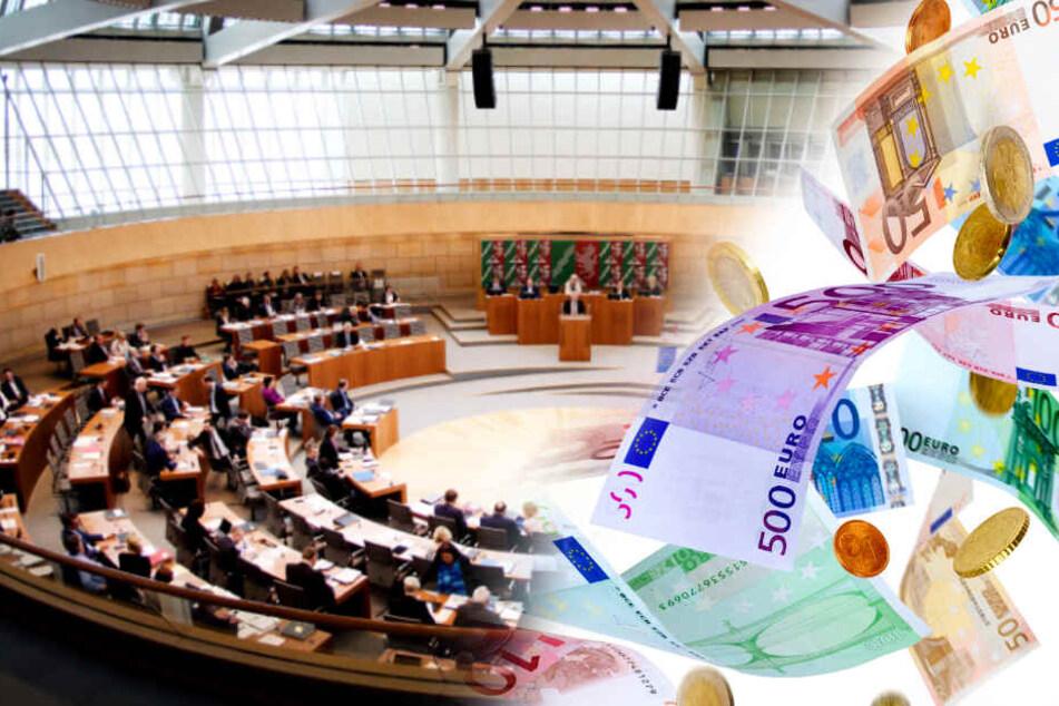 Einfach so: NRW-Landtagsabgeordnete bekommen 259 Euro mehr Geld pro Monat