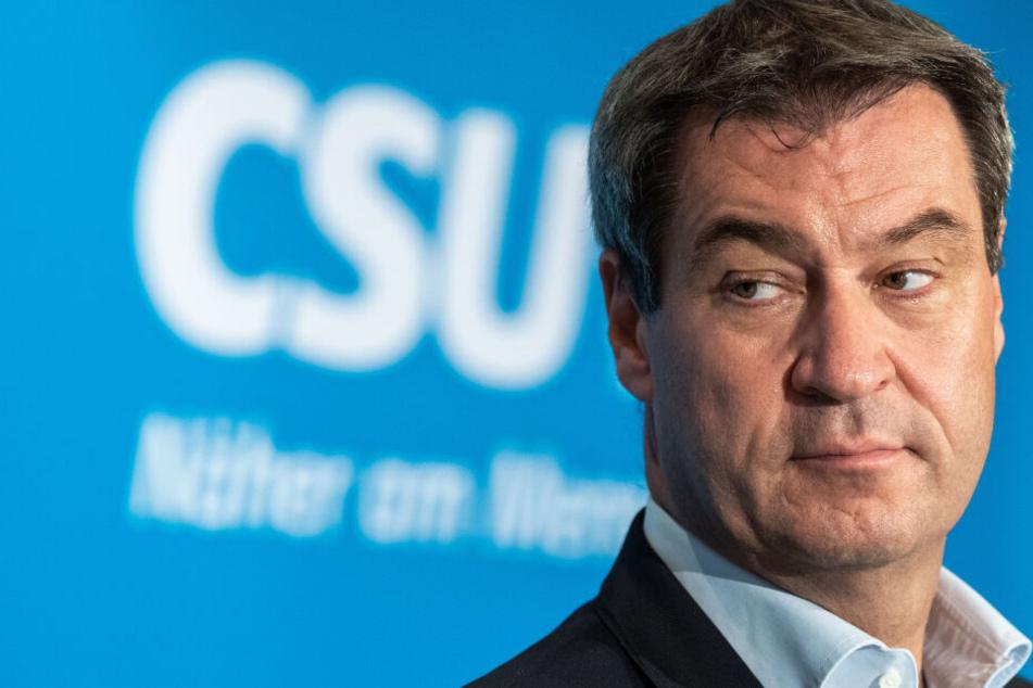 Markus Söder (CSU), Ministerpräsident von Bayern, will, dass die CSU bei der Kanzlerkandidatur mitreden darf.