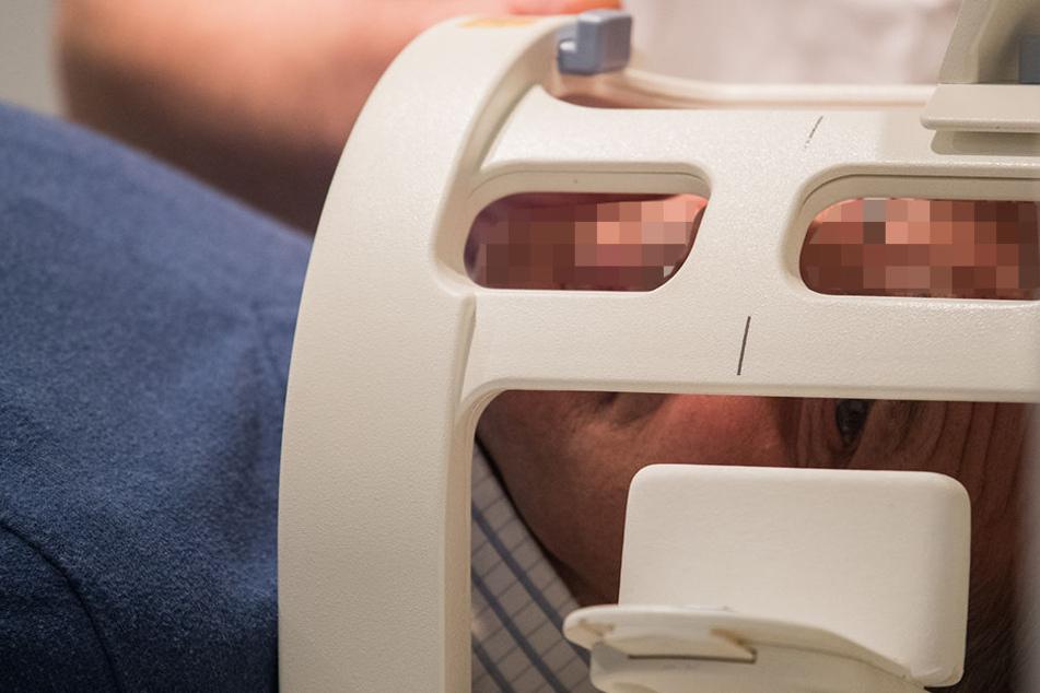 Im MRT stellte sich Luft im Gehirn heraus - eine so genannte Pneumatozele.