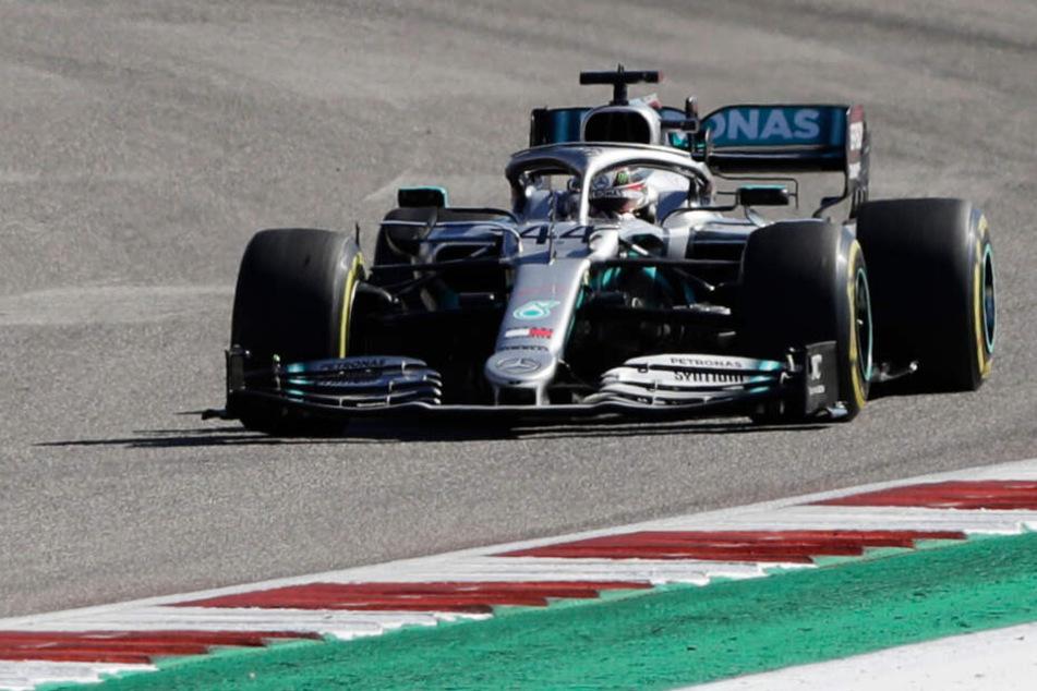 Formel 1: Hamilton holt sich WM-Titel in Austin!