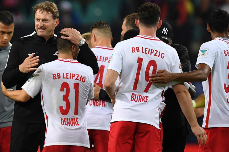 """RB Leipzig schneidet im bundesweiten Vergleich prima ab, ergab nun eine Umfrage des Magazins """"Kicker""""."""