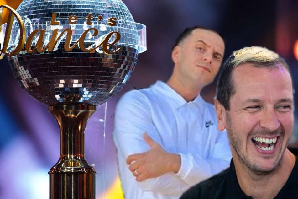"""Özcan Cosar (li.) und Pascal Hens (re.) werden sich ab dem 14. März für """"Let's Dance"""" auf das Tanz-Parkett wagen."""