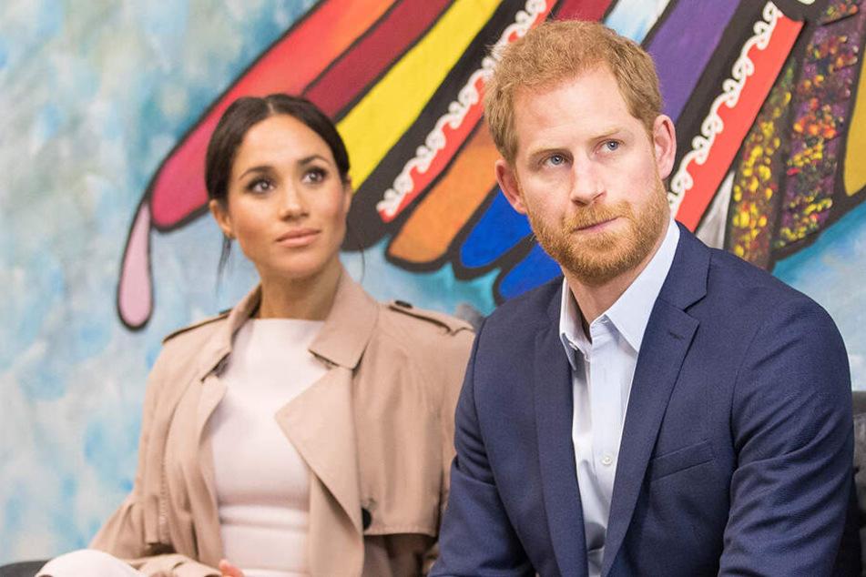 Auch Prinz Harry wurde von Meghans Familie schon beleidigt.