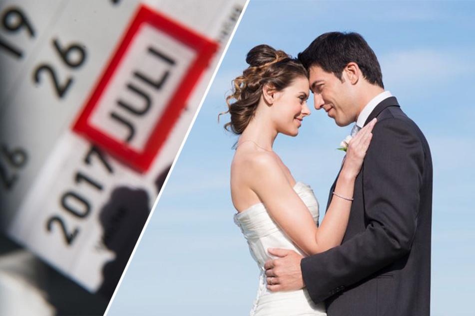 Beim Hochzeitstermin denkt man in NRW praktisch - Hauptsache, einfach zu merken.