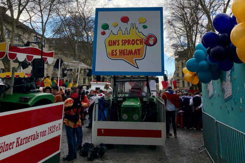 """""""Uns Sproch es Heimat"""" lautet das Karnevals-Motto in diesem Jahr."""