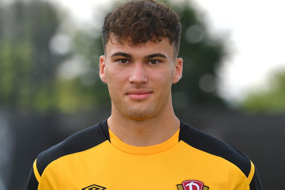 Simon Gollnack (19) ist in der Dynamo-Jugend groß geworden, nun zieht er aber weiter und schließt sich Hoffenheim II an.