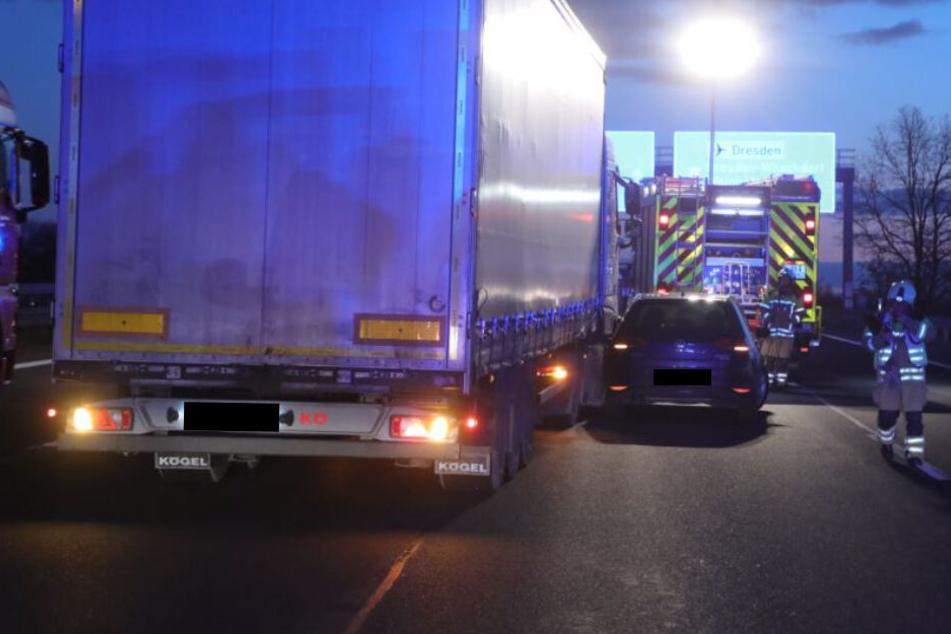 Dresden: Unfall sorgt für Stau auf der A4!