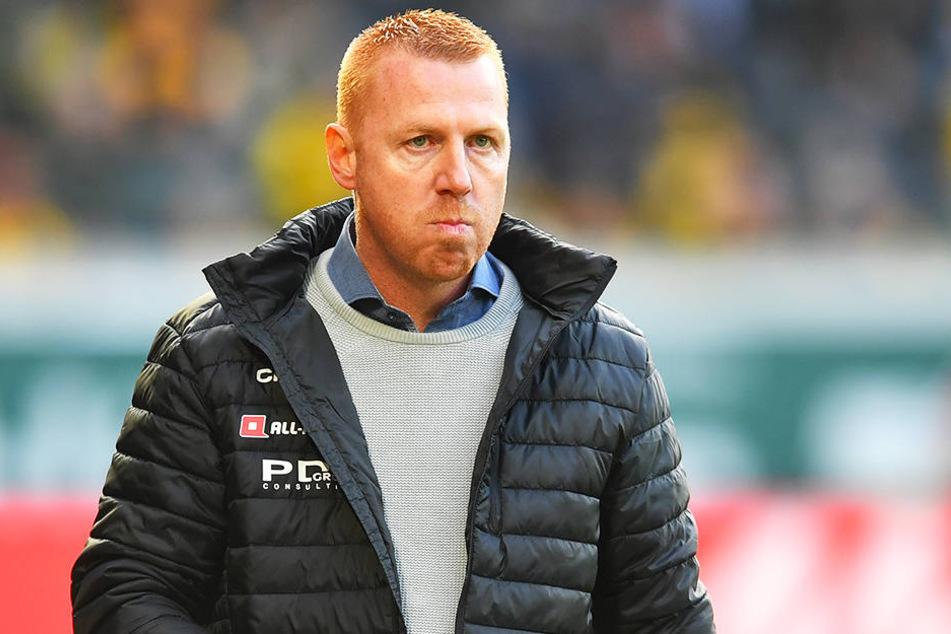 Dynamo-Coach Maik Walpurgis muss und will die Qualitäten seiner vermeintlichen Knipser hinterfragen, die zu viele klare Chancen liegen lassen.