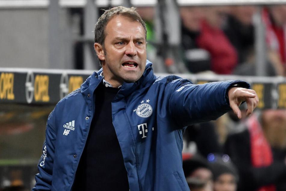 Bayerns Trainer Hansi Flick will an die letzen Erfolge der Mannschaft anknüpfen.