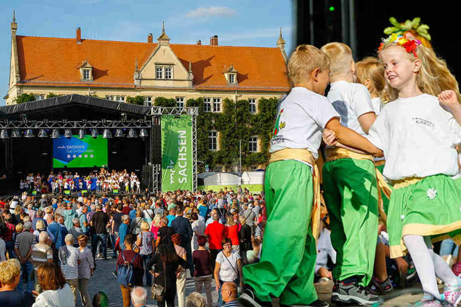 Riesa erwartet 300.000 Besucher: Sachsens größte Party gestartet
