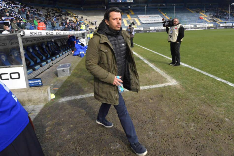 Bielefelds Sport-Boss Samir Arabi hat derzeit gute Karten bei Verhandlungen mit Spielern.
