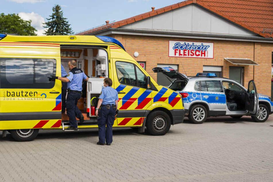 In Großröhrsdorf musste die Polizei zum Supermarktparkplatz an der Bischofswerdaer Straße anrücken.