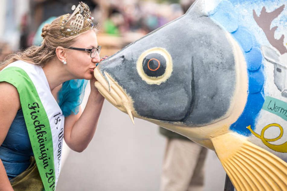 Julia Frenzel (22) ist die neue Fischkönigin in Wermsdorf.