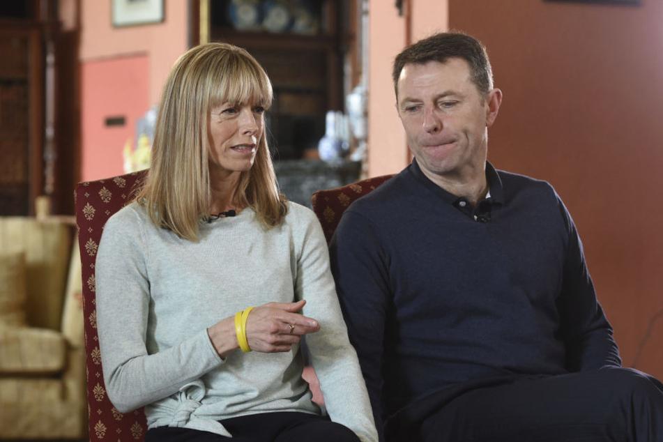 Die Eltern der verschwundenen Madeleine, Kate und Gerry McCann.