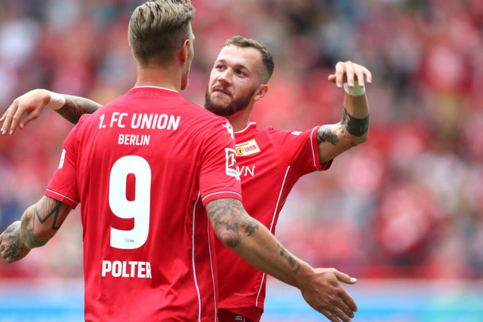 Nach zwei Spielzeiten bei den Eisernen: Marcel Hartel (r.) wechselt zu den Ostwestfalen.
