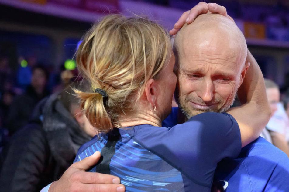 Darum brach Thomas Zampach am Ende des Marathons in Tränen aus