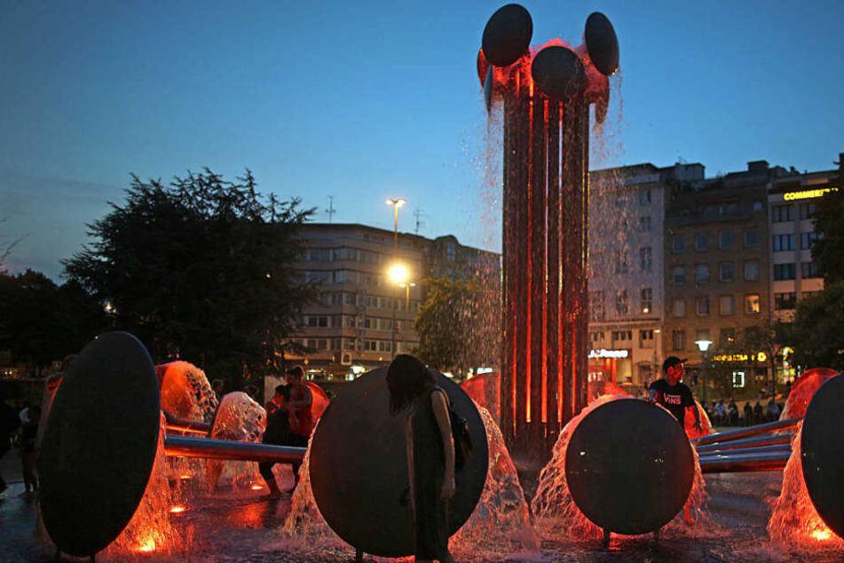 Der Ebertplatz in Köln wird als Verweil-Ort immer beliebter.