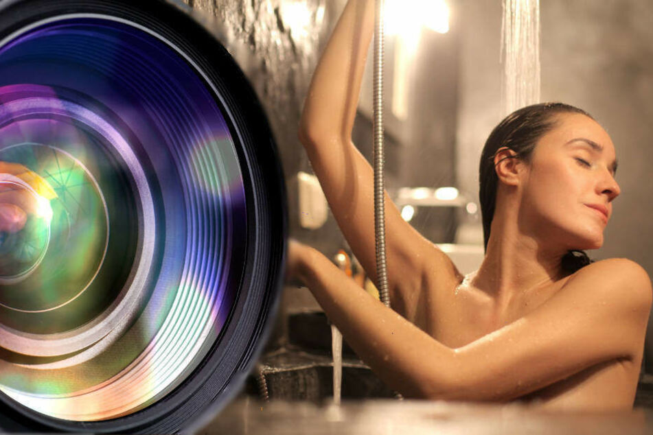 Spanner am Werk? Versteckte Kamera in Damendusche entdeckt