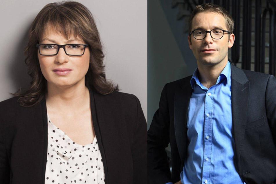 Katja Pähle (40, SPD) und Sebastian Striegel (36, Die Grünen) stellen die Parlamentsleitung unter Vize-Präsident Willi Mittelstädt (70, AfD) in Frage.