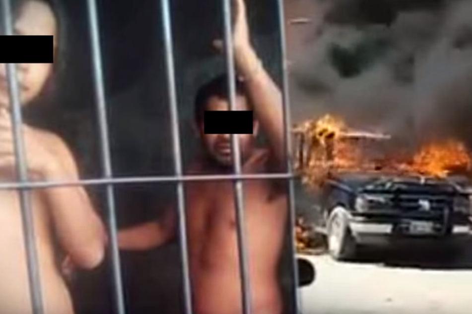 Tödlicher Irrtum: Angebliche Kidnapper vor Polizeistation lebendig verbrannt