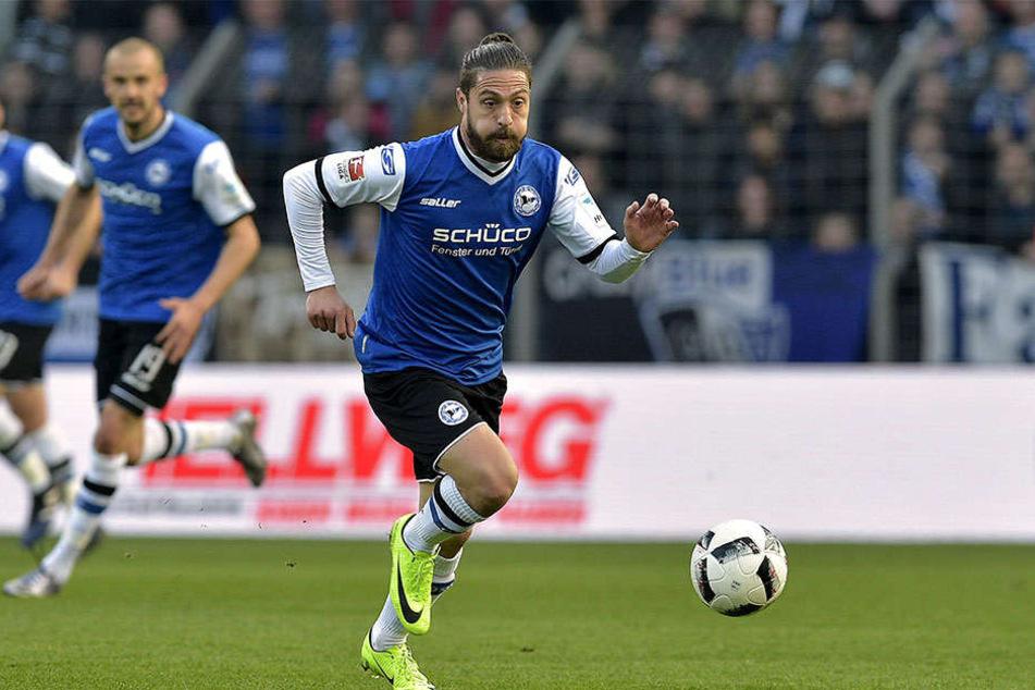 In der 84. Minute wurde David Ulm gegen Düsseldorf eingewechselt.