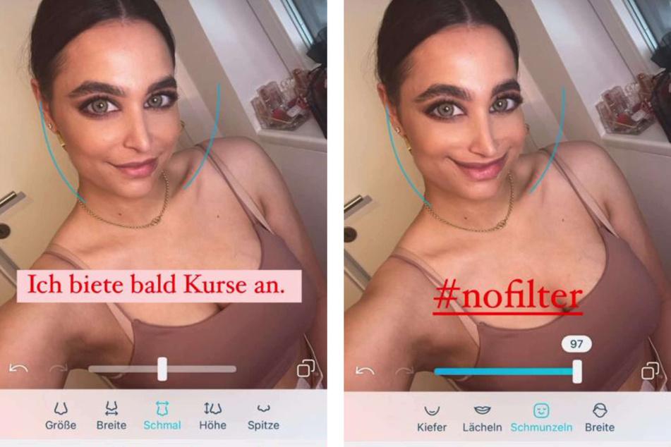 Amira Pocher (28) zeigte sich jüngst in ihrer Instagram-Story mit einem ziemlich entstellten Gesicht und dürfte ihren Fans damit wohl einen ziemlichen Schrecken eingejagt haben.