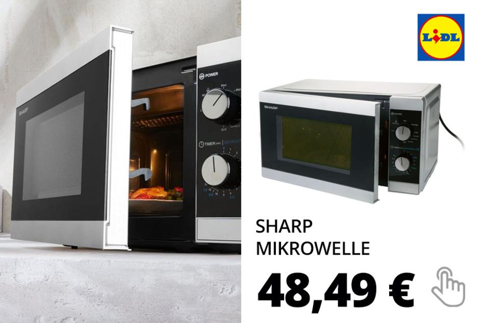 Sharp Mikrowelle, 1270 Watt, 20 l Garraumvolumen, mit Grillfunktion
