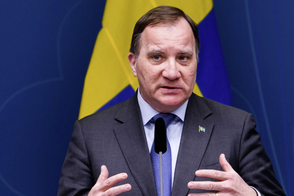 Schwedens Ministerpräsident Stefan Löfven (63).