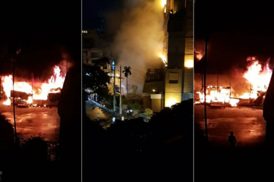 Corona-Trakt im Krankenhaus geht in Flammen auf: Menschen verbrennen qualvoll