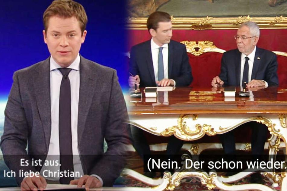 Bei Kanzler-Vereidigung: Netz lacht über viele falsche TV-Untertitel!