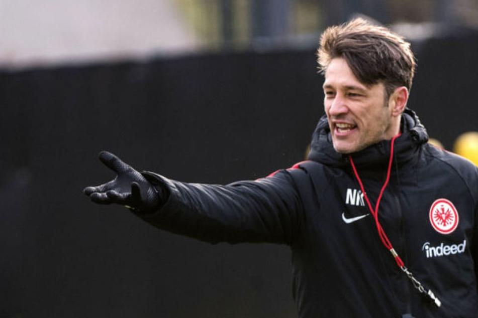 Trotz aller Querelen um die Partien zum Wochenbeginn: Niko Kovac konzentriert sich voll auf ein schweres Spiel gegen das Top-Team RB Leipzig.