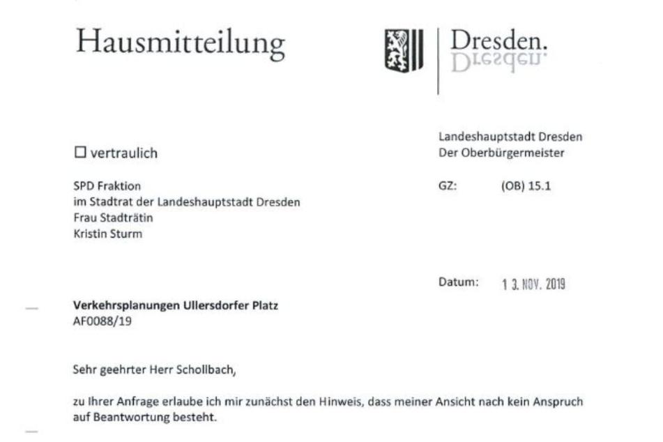 """Oben """"Sturm"""", unten """"Schollbach"""": Bei dieser Rats-Anfrage ging etwas durcheinander."""